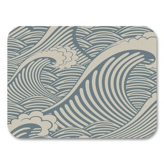 Blue Wave Placemats (Set of 4)