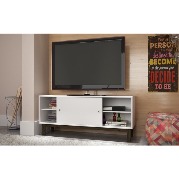 Accentuations By Manhattan Comfort Solna Retro Style Tv Stand