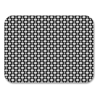Black Honeycomb Placemats (Set of 4)