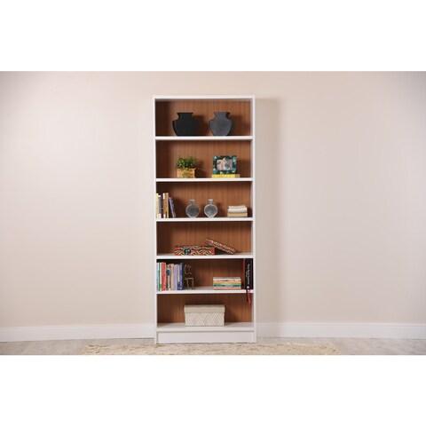 Manhattan Comfort Greenwich 6- Shelf Trente 1.0 Bookcase