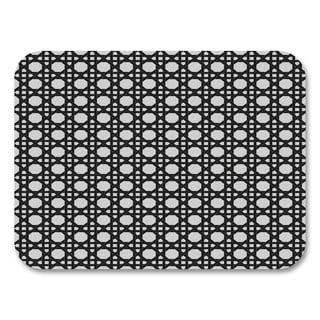 Black Lattice Placemats (Set of 4)
