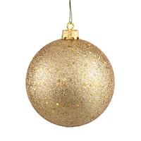 Gold Sequin 12-inch Ball Ornament