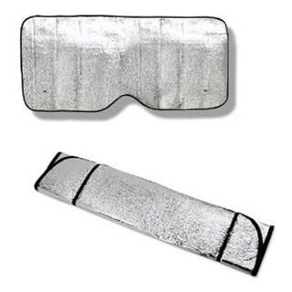 White Foil Insulated Car Sunshade