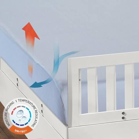 Dri-Tec Moisture Wicking Fitted Performance Crib Sheet