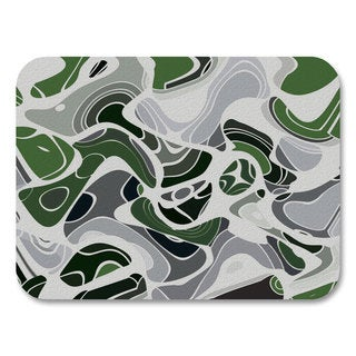 Abstract Green Placemats (Set of 4)