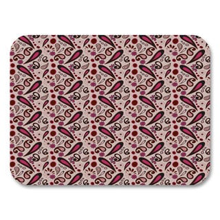 Pink Paisley Placemats (Set of 4)