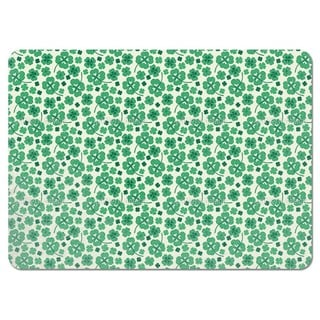Lucky Clover on White Placemats (Set of 4)