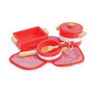 Indigo Jamm Red Pots 'n' Pans (5-piece Set)