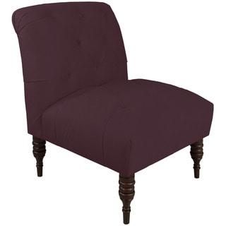 Skyline Furniture Skyline Regal Plum Tufted Chair