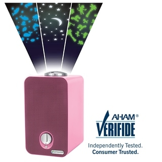 GermGuardian AC4150PCA Pink HEPA Air Purifier and Projector