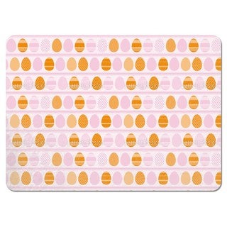 Pink Easter Egg Stripes Placemats (Set of 4)