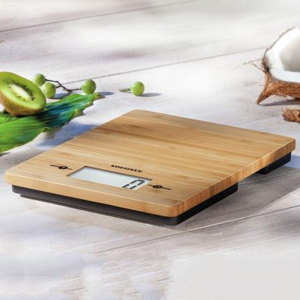 Soehnle Bamboo Digital Kitchen Scale