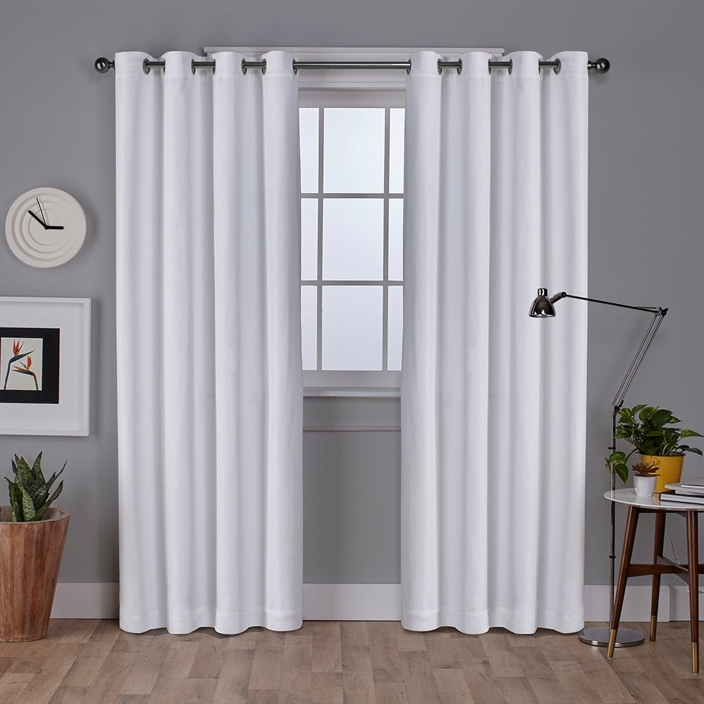 grommet rt collection textured home panel inch overstock drapes designers product curtain layne garden s designer