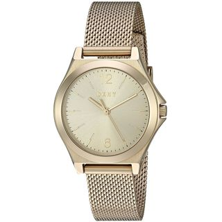 DKNY Women's NY2534 'Parsons' Gold-Tone Stainless Steel Watch