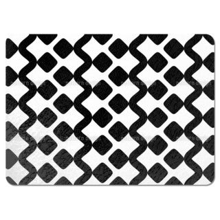 Snakes in the Checkered Garden Placemats (Set of 4)