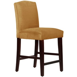 Skyline Furniture Mystere Moccasin Arched Counter Stool