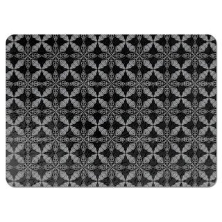 Moroccan Black Placemats (Set of 4)
