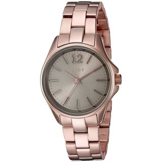 DKNY Women's NY2524 'Eldridge' Rose-Tone Stainless Steel Watch