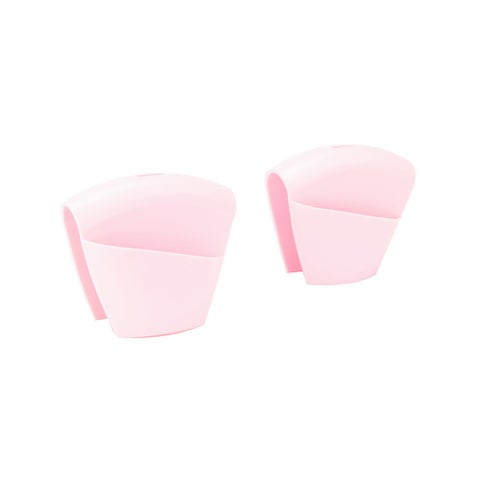 Pink Silicone Pot Holder (Set of 2)