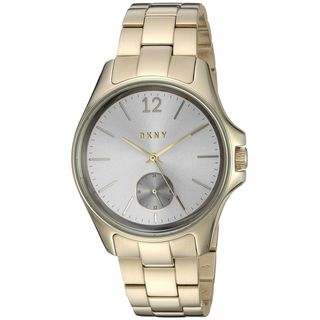 DKNY Women's NY2517 'Eldridge' Gold-Tone Stainless Steel Watch