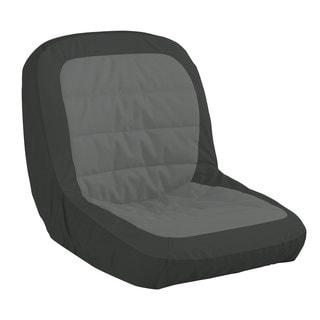 Classic Accessories Black Contoured Lawn Tractor Seat Cover