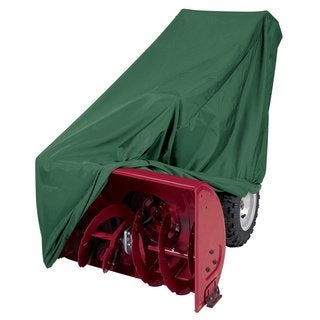 Classic Accessories Atrium Green Polyester 2-stage Snow Blower Cover