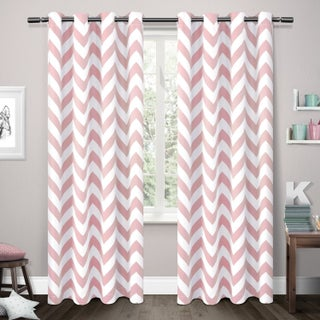 ATI Home Mars Woven Blackout Curtain Panel Pair with Grommet Top (2 options available)