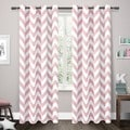 ATI Home Mars Woven Blackout Thermal Grommet Top Curtain Panel Pair