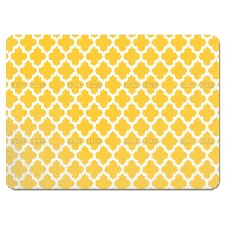 Unique Ikat Yellow Placemats (Set of 4)