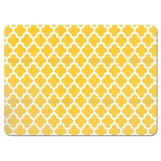 Unique Ikat Yellow Placemats (Set of 4)