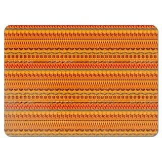 Multi Kulti Orange Placemats (Set of 4)