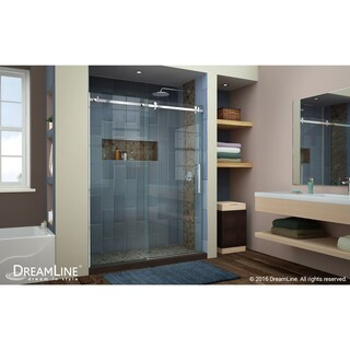DreamLine Enigma Air 56 to 60 in. Frameless Sliding Shower Door (2 options available)