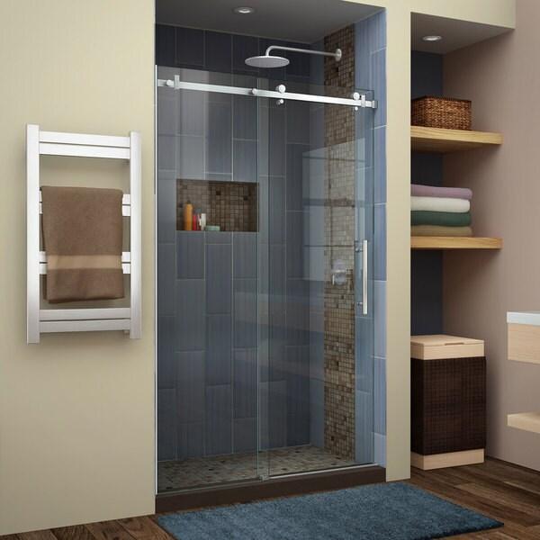 Dreamline Enigma Air 44 To 48 In Frameless Sliding Shower Door