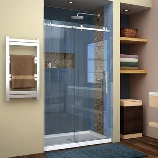 DreamLine Enigma Air 44 to 48 in. Frameless Sliding Shower Door|https://ak1.ostkcdn.com/images/products/12712637/P19493743.jpg?impolicy=medium