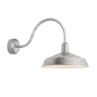 Troy RLM Lighting Standard Galvanized 23 inch Arm Wall Sconce