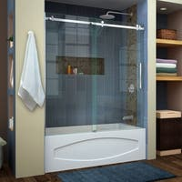 DreamLine Enigma Air 56 to 60 in. Frameless Sliding Tub Door