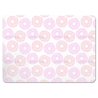 Sunshine Pink and Lavender Placemats (Set of 4)