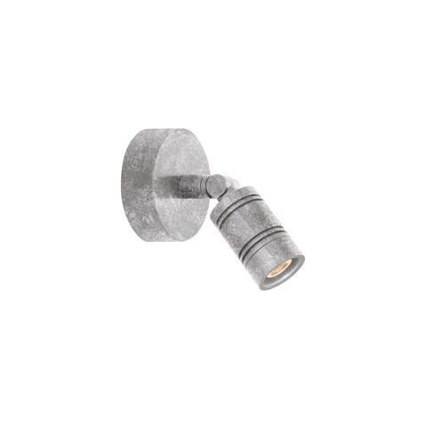 Troy RLM Lighting LS LED Bullet Head Galvanized Monopoint Surface Mount