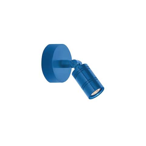 Troy RLM Lighting LS LED Bullet Head Blue Monopoint Surface Mount