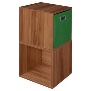 Niche Cubo Pink Wood/Fabric/Laminate Storage Set