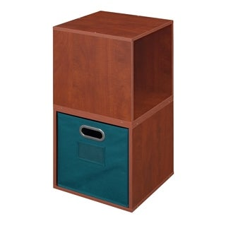 Niche Cubo Pink Wood/Fabric/Laminate Storage Set