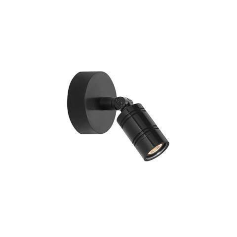 Troy RLM Lighting LS LED Bullet Head Black Monopoint Surface Mount