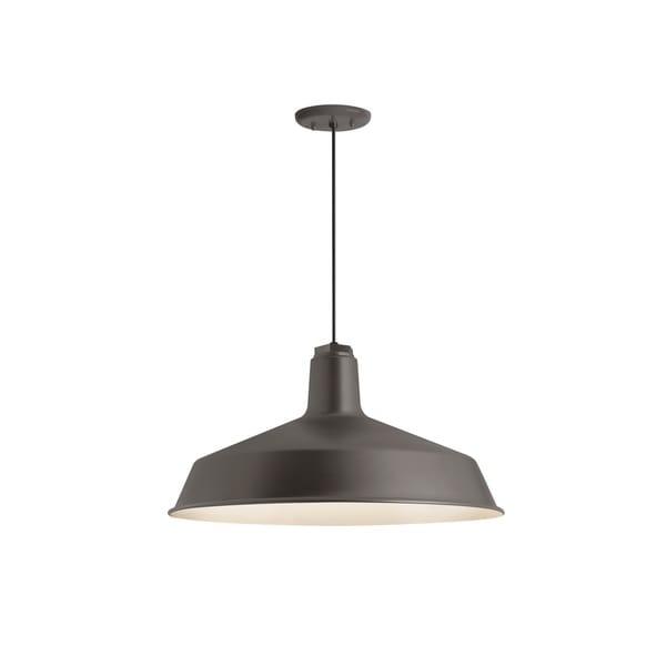 Troy RLM Lighting Standard Textured Bronze Pendant