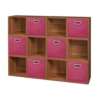 Niche Cubo Storage Set With 12 Cubes and 6 Canvas Bins