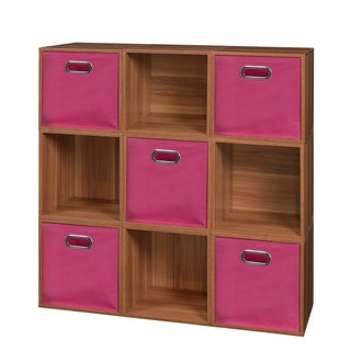 Niche Cubo Storage Set of 9 Cubes and 5 Canvas Bins