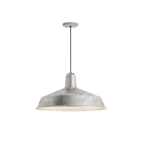 Troy RLM Lighting Standard Galvanized Pendant