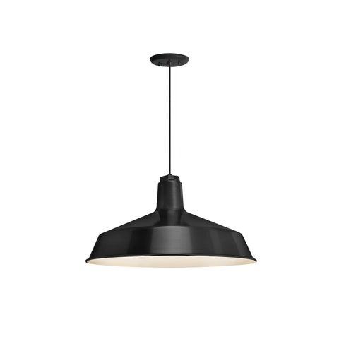 Troy RLM Lighting Standard Black Pendant