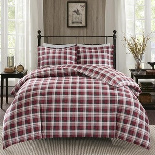 Woolrich Tasha Cotton Flannel Duvet Cover Mini Set