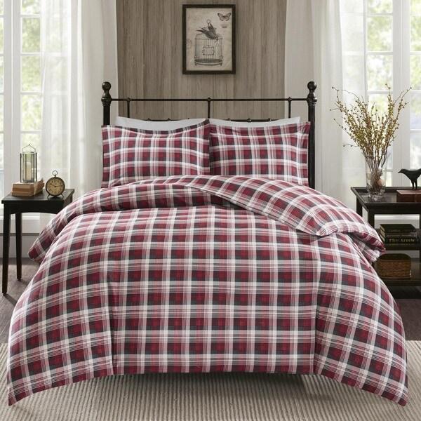 Woolrich Tasha Cotton Flannel Duvet Cover Mini Set