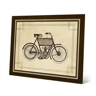 'Vintage Bike' Metal Wall Art